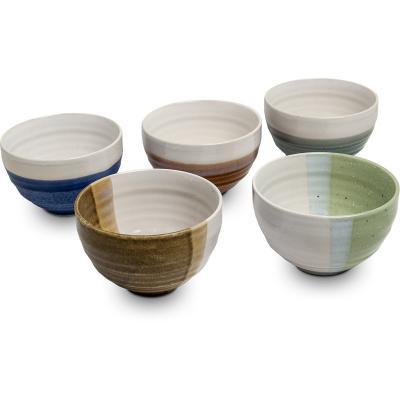Set 5 bols japonesos Zen 11 cm