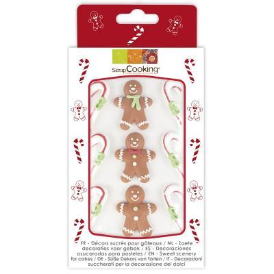 Set 9 decoracions de sucre Pa d'Espècies