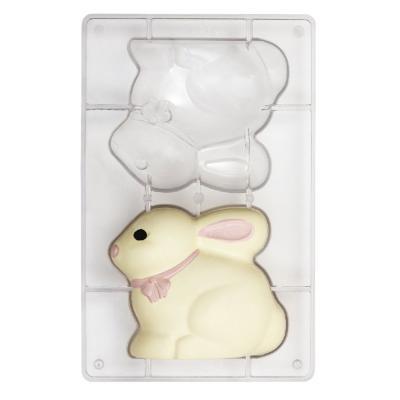 Motllo policarbonat per xocolata Conill