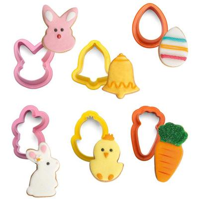 Set 6 talladors galetes mini Pasqua