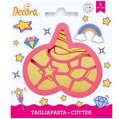 Tallador galetes plàstic Màscara Unicorn