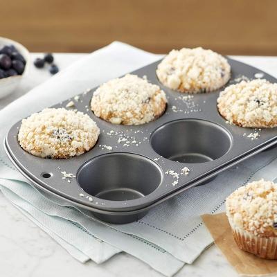 Motllo 6 cupcakes Jumbo Wilton