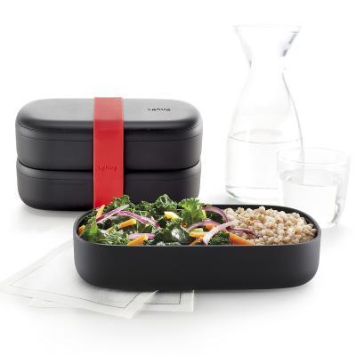 Carmanyola doble LunchBox to Go Black Limited