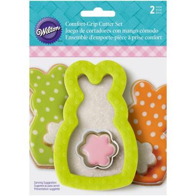 Set tallador galetes comfort grip Conill i cua