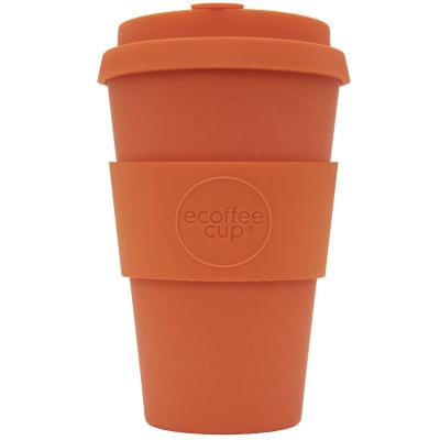 Tassa bambú amb tapa Ecoffee 400 ml Kings Day