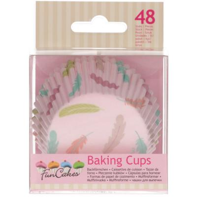 Paper cupcakes x48 Plomes