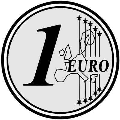 Motllo Xocolata Monedes 1 Euro x6