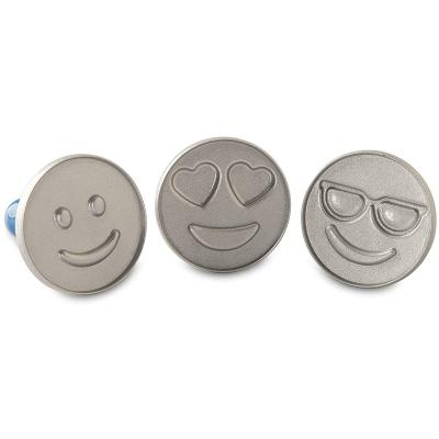Set 3 segells galetes Emoji Cookie Nordic Ware