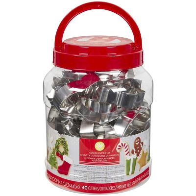 Set 40 talladors galetes Nadal wilton