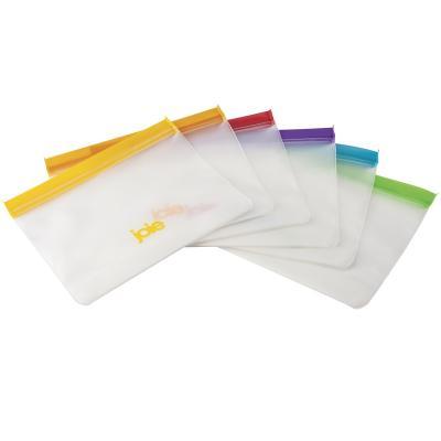 6 bosses reutilitzables bocata i congelar 1,4 L