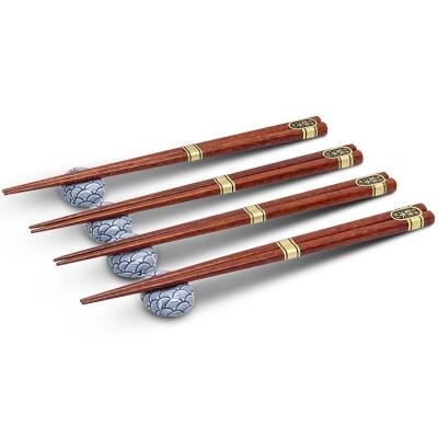 4 parells bastonets japonesos amb 4 suports ones