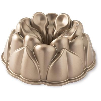 Motllo pastís Nordic Ware Magnolia Bundt copper
