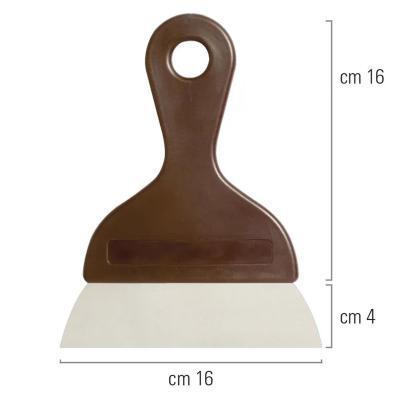 Espàtula rasqueta per a xocolata