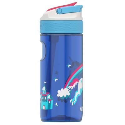 Ampolla d'aigua amb palleta Lagoon 500 ml Rainbow
