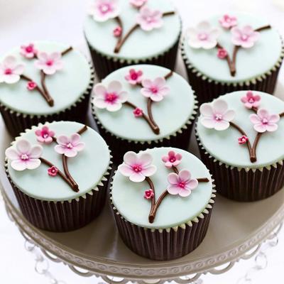 Motllo mini muffins metàl·lic 24 cav.