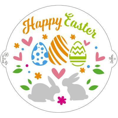 Stencil plantilla Pasqua 25 cm