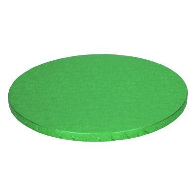 Base pastissos rodona 25 cm verda
