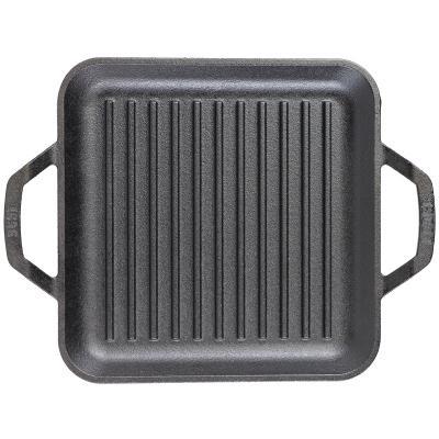 Planxa grill quadrada ferro Lodge Chef 28 cm
