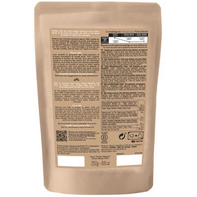 Cobertura xocolata negra Valrhona Caraibe 66% 250g