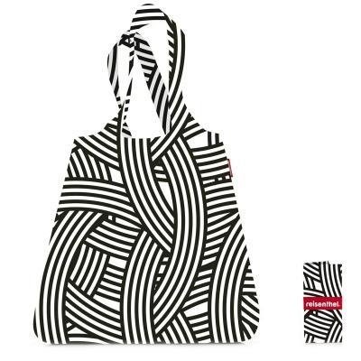 Bossa compra plegable shopper Zebra