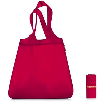 Bossa compra plegable shopper vermella