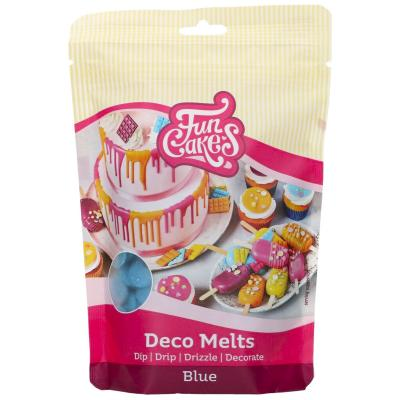 Deco Melts Funcakes 250 gr Blau