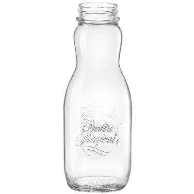 Ampolla vidre Quattro Stagioni amb tap 1 L
