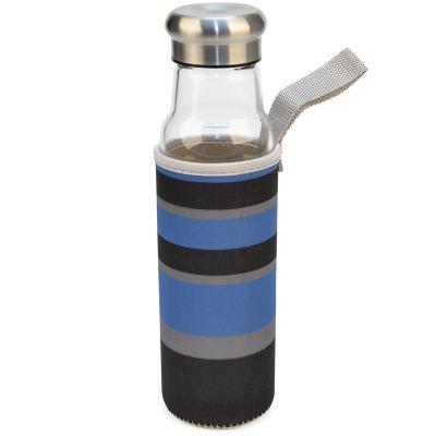 Botella cristal con funda neopreno