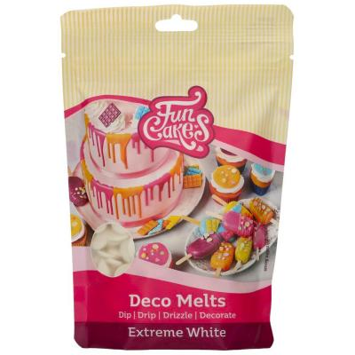 Deco Melts Funcakes 250 gr Blanc extrem