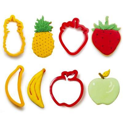 Set 4 talladors galetes fruites