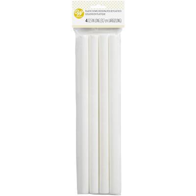 Set 4 pals plàstic 31,7 cm