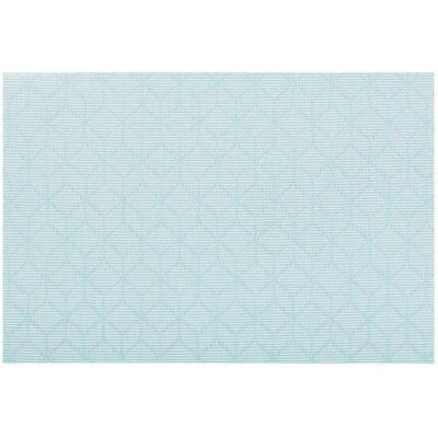 Estovalla individual 30x45 cm Cubes blau