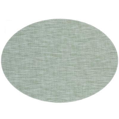 Estovalla individual oval 33x46 cm verd pedra