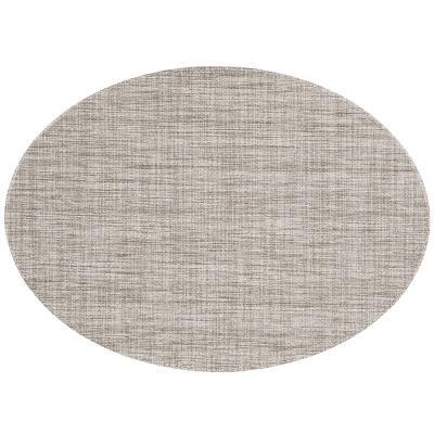 Estovalla individual oval 33x46 cm taupe
