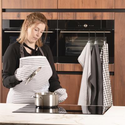 Set 2 agafadors cuina 100% cotó XL-Lines gris