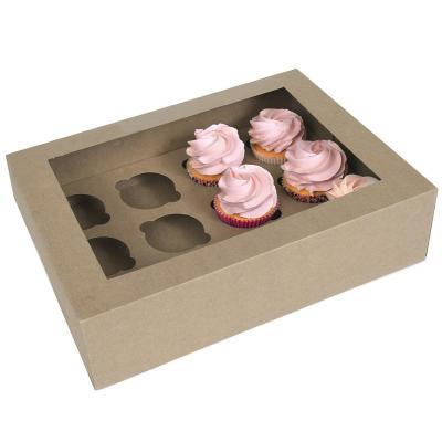 Set 2 caixes per 12 cupcakes Kraft