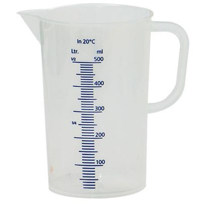 Gerra mesuradora 500 ml
