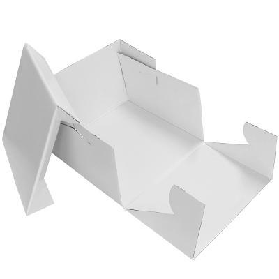 Caixa per pastissos blanca 20,5x20,5x15 cm