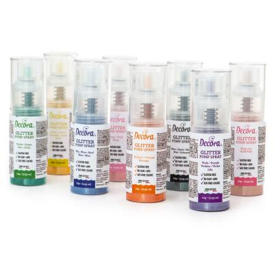 Spray pump comestible brillant 10 g or