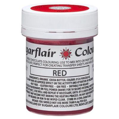 Colorant per Xocolata base mantega cacau vermell