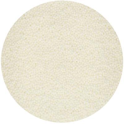 Sprinkles nonpareils Funcakes 80 g blanc