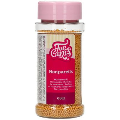 Sprinkles nonpareils perles 80 g or