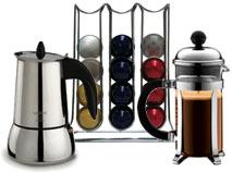 Café, infusiones y té