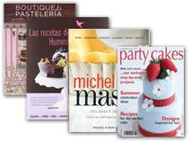 Libros y revistas pastelería