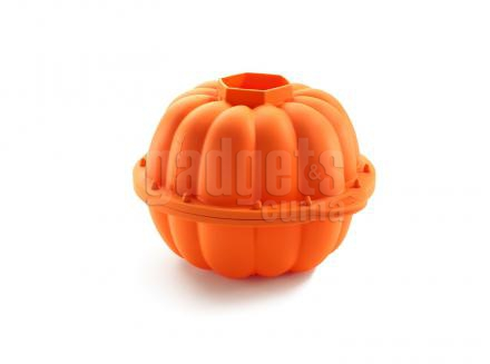 Molde calabaza 3D silicona 2,3 L