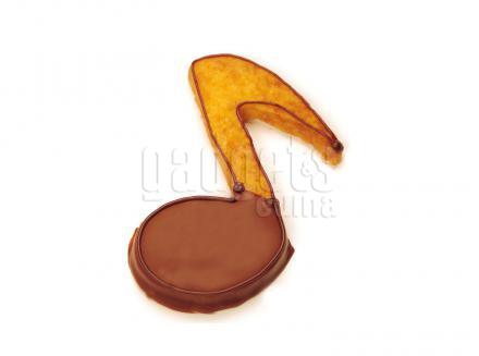 Cortador galletas nota musical 7 cm