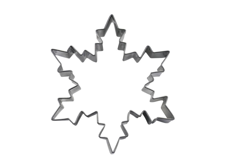 Cortador galletas estrella nieve 8 cm gadgets cuina for Estrella de nieve