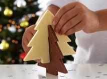 Molde árbol navidad grande silicona 3D