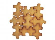 Cortador galletas puzzle 9 cm