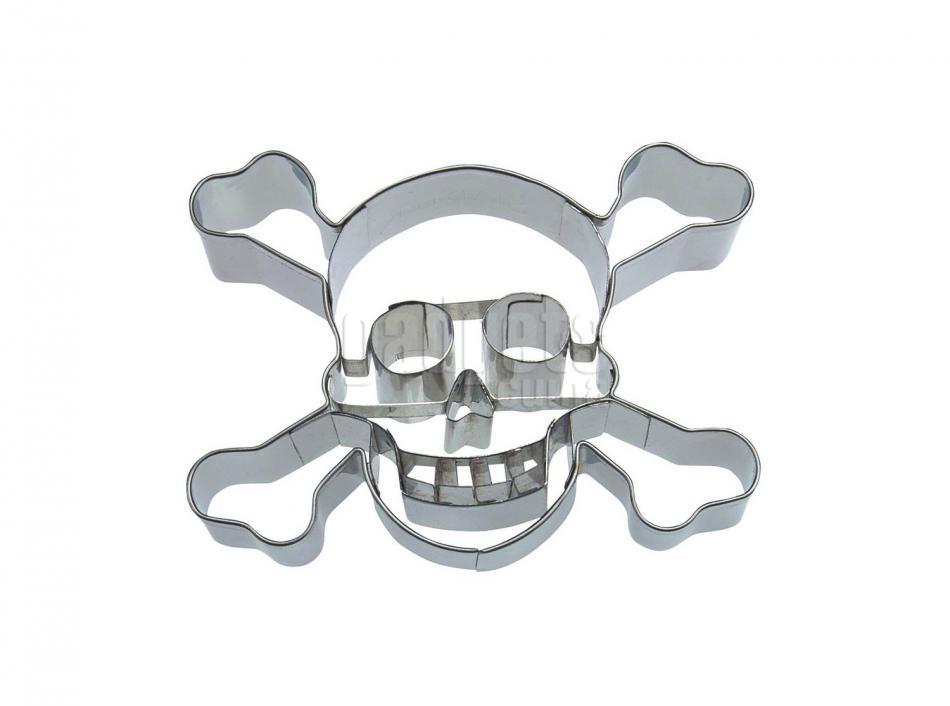cortador galletas calavera pirata 9 cm gadgets amp cuina